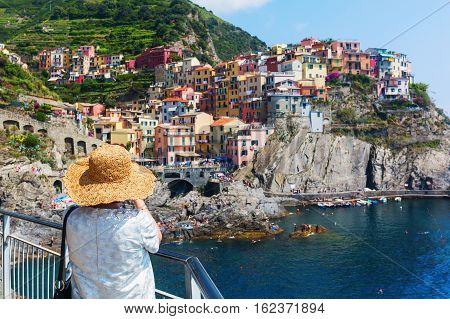 View Of Manarola, Cinque Terre, Italy