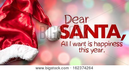 Dear Santa, All I Want is Happiness This Year