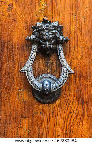 Antique Doorknocker From Tuscany, Italy