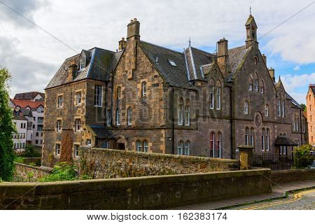 Historic Building In Dean Village, Edinburgh