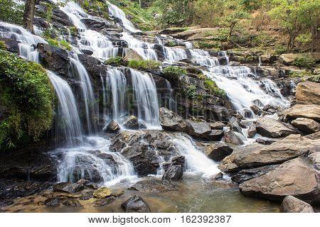 Mae Ya waterfall, Doi Inthanon national park, Chiang Mai  Thailand