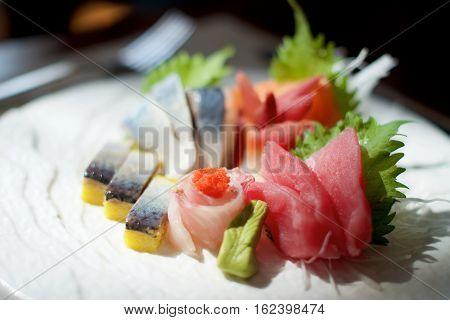 Japanese Sashimi Patter