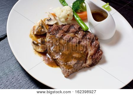 Gourmet Steak Dish