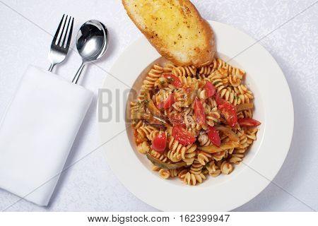 Tomato Fusili Pasta