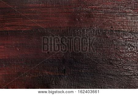 Background Pattern Dark Brown Wooden Rough Texture with Copy Space for Text Decorated.