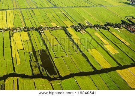 landscape of Netherlands