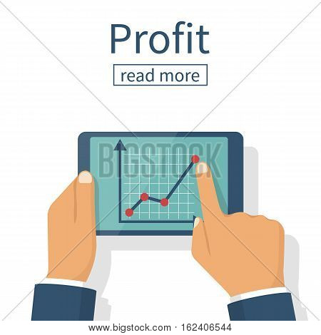 Profit Growth, Investment Concept