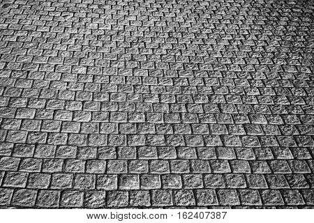 In South Africa   Abstract Pavement In The Old Steet