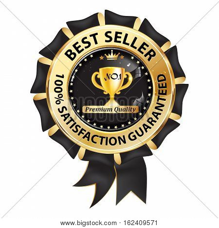 Best seller, 100% satisfaction guaranteed - luxurious icon / sticker / stamp for retail industry. Business icon