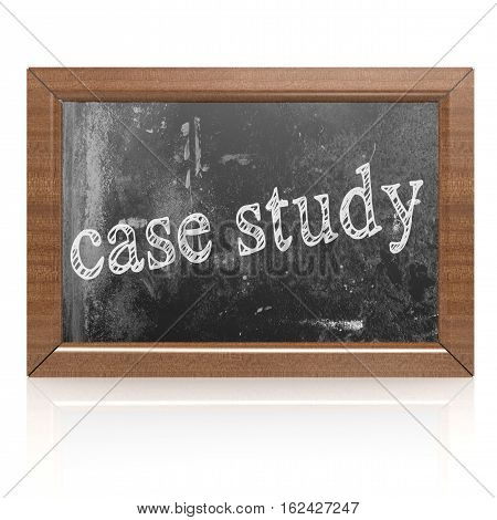 Success Concept With Case Study On Blackboard