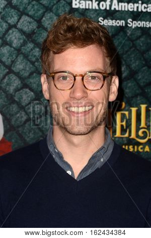LOS ANGELES - DEC 16:  Barrett Foa at the