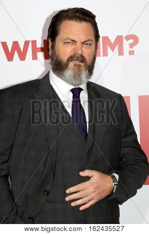 LOS ANGELES - DEC 17:  Nick Offerman at the