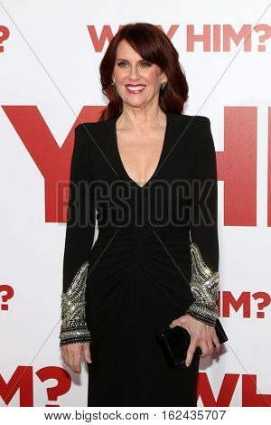 LOS ANGELES - DEC 17:  Megan Mullally at the