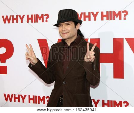 LOS ANGELES - DEC 17:  Cory Feldman at the