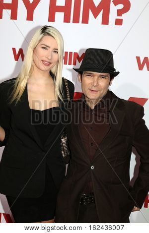 LOS ANGELES - DEC 17:  Courtney Anne Mitchell, Cory Feldman at the