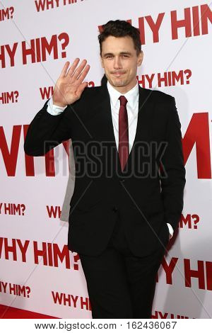 LOS ANGELES - DEC 17:  James Franco at the