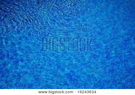 background made of a close-up of pool water