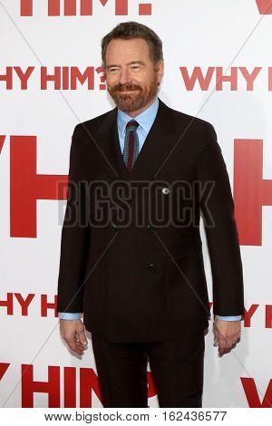 LOS ANGELES - DEC 17:  Bryan Cranston at the