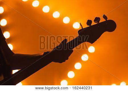 Live Music, Electric Bass Guitar