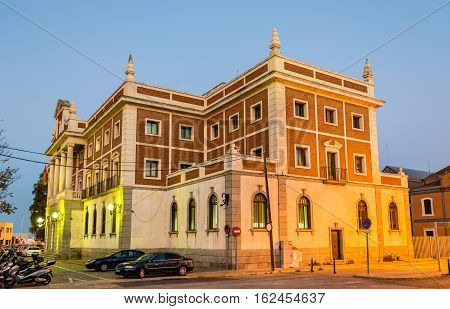 Old customs house at the Plaza de Sevilla in Cadiz - Spain, Andalusia