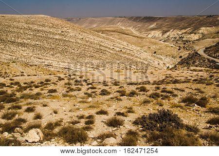 Photo of the Shobak surroundings area. Solitude and calm concept