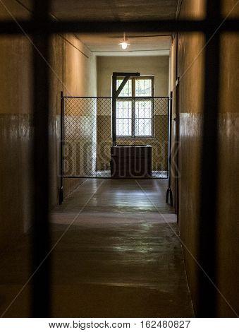 hang gibbet at concentration camp Auschwitz Birkenau KZ Poland