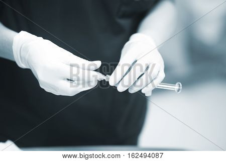 Surgery Anaesthetic Syringe
