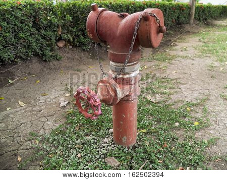 Water supply valve Park in the large city