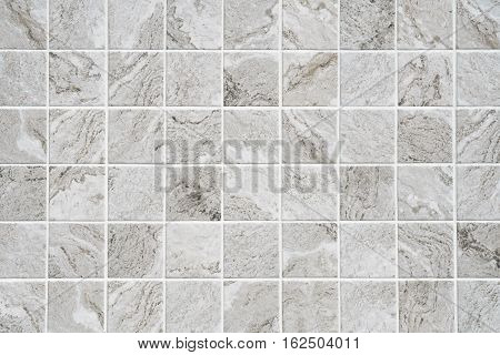 Gray marble texture background mosaic tile grout with a cruise.