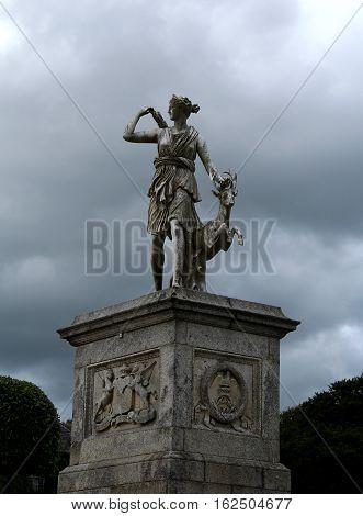 Powerscourt Gardens, Enniskerry, County Wicklow, Leinster, Ireland