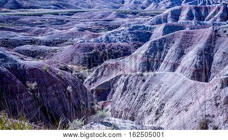 South Dakota Badlands national park Valley USA