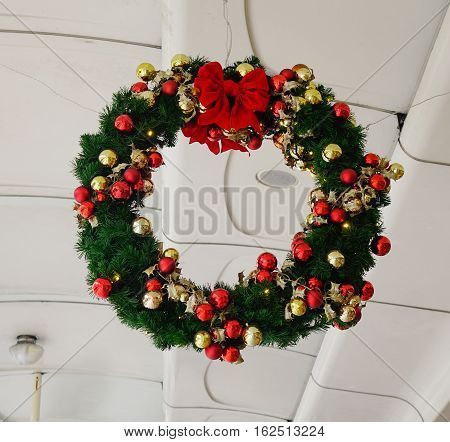 Christmas Wreath For Decorations