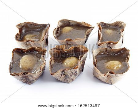 close-up six Chinese pastry (Chinese language called