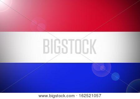 Netherlands flag ,Netherlands national flag illustration symbol.