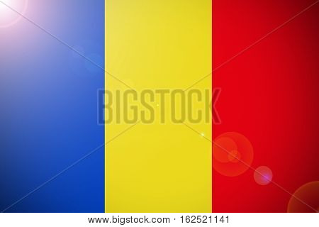 Romania flag ,Romania national flag illustration symbol