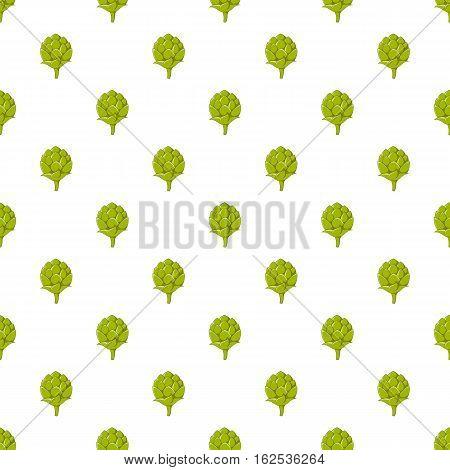 Seeds hops pattern. Cartoon illustration of seeds hops vector pattern for web
