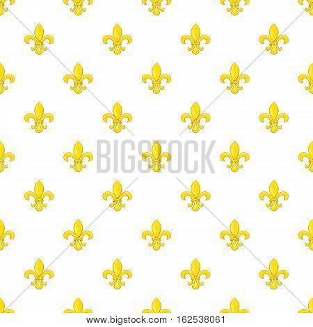 Knight ornament pattern. Cartoon illustration of knight ornament vector pattern for web