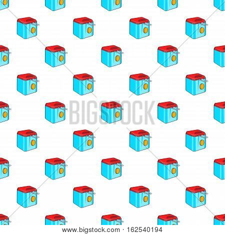 Fryer pattern. Cartoon illustration of fryer vector pattern for web