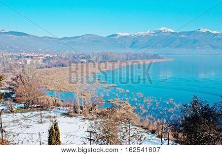The Walk Along The Lake