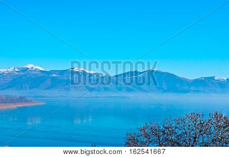 The Winter Nature Of Kastoria