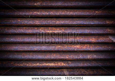 Ventilation metal grating. Vintage metal grid background