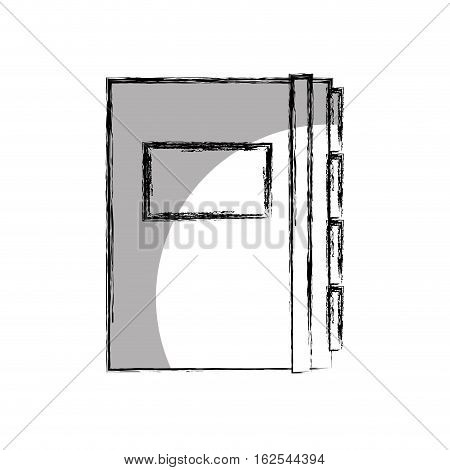 folder documents isolated icon vector illustration design
