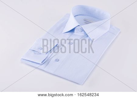 Shirt nicely folded on a white background
