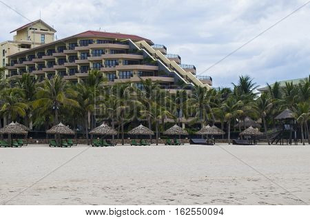 Hotel In The My Khe Beach, Danang, Vietnam