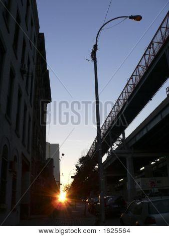 Sunrise Williamsburg Bridge