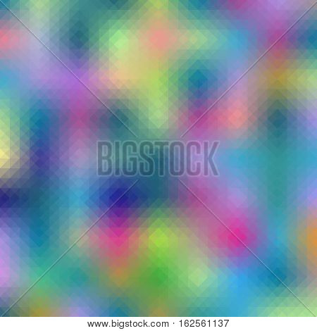 vector abstract polygon triangulated background multicolored color mosaic