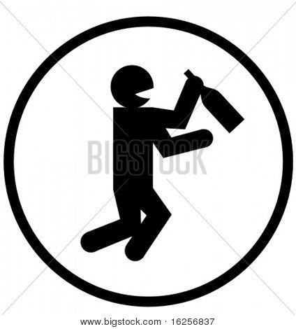 drunk symbol