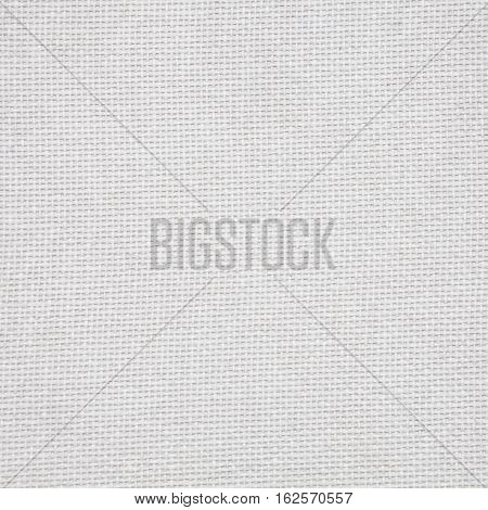 White Fabric Texture. Light Background