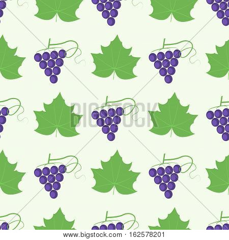 Grape Berry Leaf Pattern 4By4