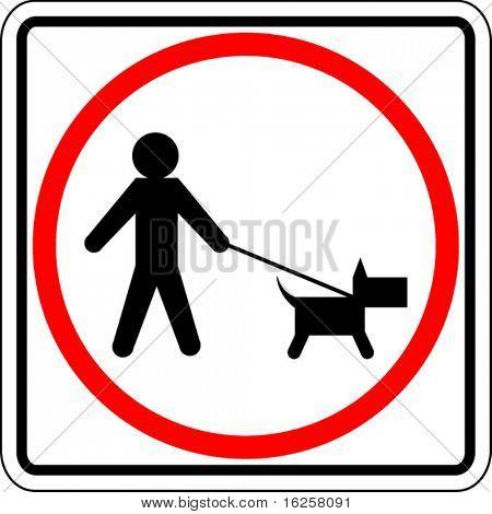 dog walk permitted